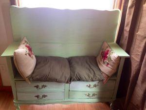 dresser to bench