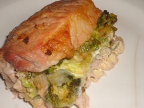 Low carb stuffed porkchops