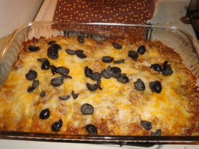 The best low carb enchilada bake!