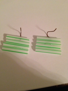 Soda Straw Earrings